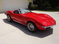 1970 Chevrolet Corvette '70 Corvette Stingray Roadster 350 4-Speed Red