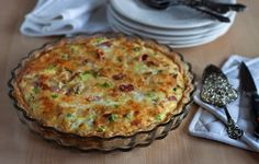 Meat Lovers Quiche - Ham, Bacon & Sausage in a brunch dish. Who says real mean don't eat quiche?