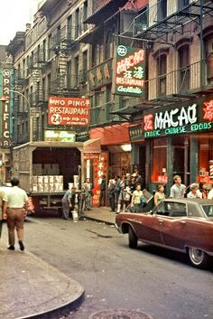 Colour Photos of Life in New York, 1971