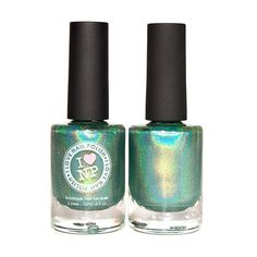 1st and 15th  Green Ultra Holographic Nail Polish by ILoveNP, $10.00