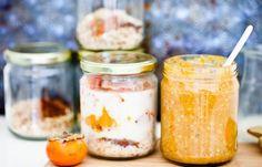 9 receitas de aveia fria | Gosta de comer aveia no café-da-manhã mas não tem tempo para cozinhar? Então estas receitas de aveia fria são perfeitas para si.