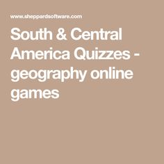 South America Map Puzzle - Countries and Capitals | Spanish ...