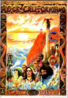 ROCK COMIX Nº 5 ROCK CALIFORNIANO 1976, JEFFERSON AIRPLANE STARSHIP, GRATEFUL DEAD... NUEVECITO - Foto 1