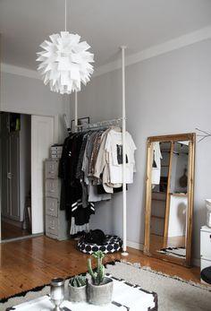 RAW Design blog: VAATESÄILYTYS YKSIÖSSÄ