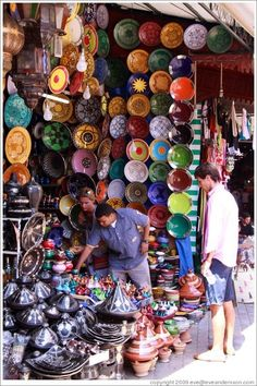 wow would love to be in this shop  Marrakech Morocco