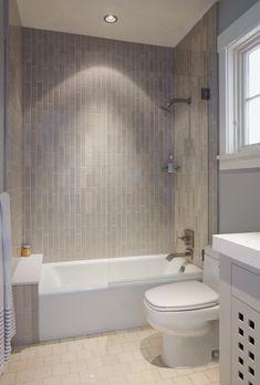 Subtle and Sophisticated Bathroom Installation Gallery Fireclay Tile Bathroom Renos, Bathroom Layout, Bathroom Renovations, Bathroom Interior, Small Bathroom, House Renovations, Dyi Bathroom, Bathroom Black, Bathroom Showers