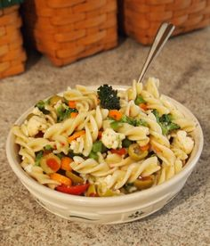 Spring Into Summer' Pasta Salad