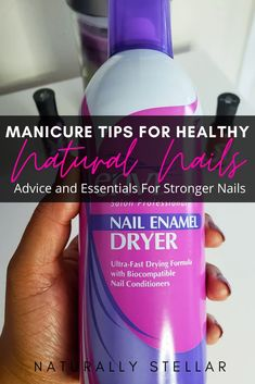Basic Manicure Tips For Healthy Natural Nails ⋆ Naturally Stellar Manicure Tips, Diy Nails, Manicures, Nails At Home, Manicure At Home, Natural Nails, Natural Skin Care, Best Multivitamin, Nail Biting