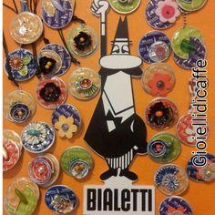 Spille, ciondoli e portachiavi realizzati con capsule Bialetti