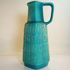 West German Pottery Vase • Fat Lava • Bay