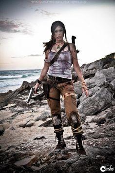 Lara Croft - Tomb Raider #cosplays