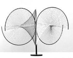 Hyperbolic surfaces, academic year Lecturer: Tomás Maldonado Students: L. Fünfschilling, W. Max Bill, General Motors, Abstract Sculpture, Abstract Art, Euclidean Geometry, Popular Paintings, Concrete Art, Art Database, Photo Art