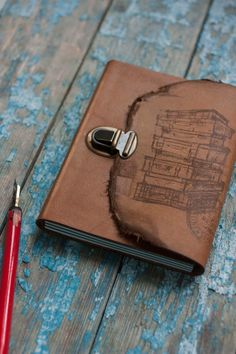 Reise-Journal Koffer Journal Reise-Notebook von MananaBooks auf Etsy