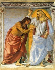 Christ and the Doubting Thomas - Signorelli Luca