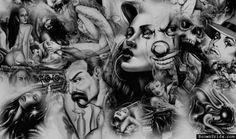 chicano Stomach Sexy Tattoos | en el estado de california hay cientos de pandillas algunas