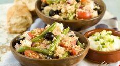 Oppskrifter - Diabetesforbundet Fajitas, Couscous, Guacamole, Potato Salad, Salads, Potatoes, Rice, Ethnic Recipes, Supper