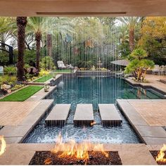 Swimmingpool Landscaping Ideas For a Small Backyard - a Minimalist on a Tiny Page? Swimmingpool Landscaping Ideas For a Small Backyard - a Minimalist on a Tiny Page? Check out ! Surely it would be very nice to have a swimming pool at home. Swimming Pool Landscaping, Swimming Pool Designs, Backyard Landscaping, Landscaping Ideas, Luxury Landscaping, Outdoor Life, Outdoor Living, Outdoor Pool, Indoor Outdoor