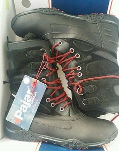Pajar Pearl Boots Black Womens Winter Snow 10 - 10.5 Size 41