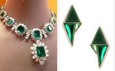 Dazzling Emerald Jewelry – wanaabeehere Ancient Persian, Emerald Jewelry, Emerald Green, Gemstones, Diamond, Beautiful, Gems, Jewels, Diamonds