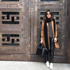 Alexandra Pereira (Lovely Pepa) on Instagram, fashion // Cute layers with sneakers, Women's Fashion, Wear