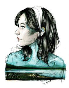 (1) Profile Pictures Paula Bonet Illustration