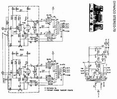 Schematic - Dynaco Stereo-70 Tube Amplifier @ AmpsLab.com