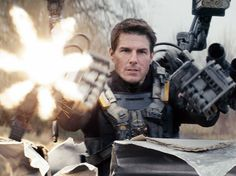 'Edge of Tomorrow': Tom Cruise, Emily Blunt Explain What to Expect (Video) Action Movies 2016, Movies 2014, Sci Fi Movies, Good Movies, Fantasy Movies, Edge Of Tomorrow, Emily Blunt, Tom Cruise, Movies