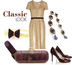 """Classic Bling"" by jeannierichard on Polyvore"