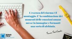 Corso di montaggio alla Roma Film Academy.   Scopri di più su www.romafilmacademy.it