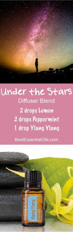 Under the Stars doTERRA Diffuser Blend