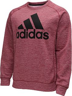 Chilly workout conditions, or laid back weekends watching sports call for this adidas men's Team Issue crew sweatshirt, which features heat-trapping CLIMAWARM technology. #GiftOfSport http://www.rimsportsgear.com/