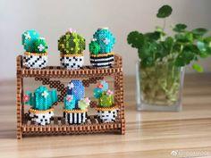 3d cactus perler bead pattern hama beads pinte