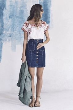 b15a21639d3 ... Madewell s spring collection - the first collection under the brand s  new head of design