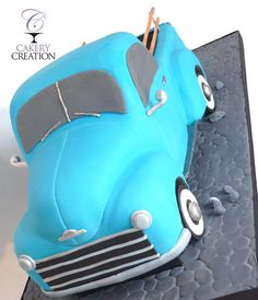 3D ford truck cake