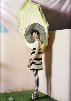 fakingfashion: Vogue UK April 2011 | The Right Lines | Tim Walker