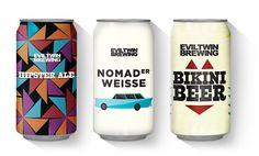 Evil Twin Cans Designed by Martin Justesen