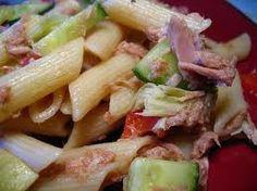 Pastasalade met tonijn en appel! Heerlijk recept voor tonijnsalade - Plazilla.com