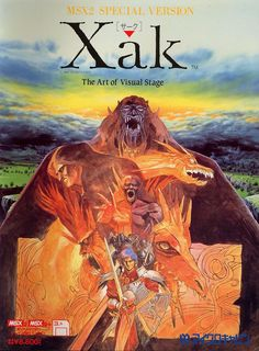 Image result for Xak - The Art of Visual Stage (J)box art