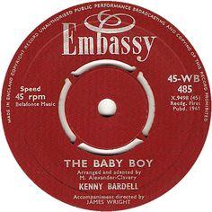 The Baby Boy - Kenny Bardell (WB485) Nov '61