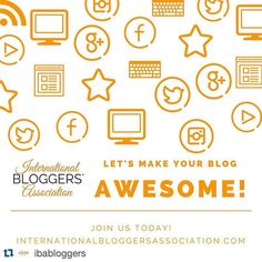 #holistichealth @ibabloggers with @repostapp.  You have a blog and would like some help to improve your online presence? You use various social media platforms but arent sure how to get the most out of them?  Then join the International Bloggers Association TODAY!  Lets make your blog awesome!  Do you want to be an IBA Blogger too? Go to our website and find out how Together we can make your Blog Awesome! internationalbloggersassociation.com  #IBAbloggers #IBAlife #blogging #bloggers…