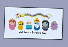 Adventure Time - Cross Stitch Pattern
