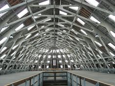 Covered Slip, Chatham Historic Dockyard by Richard and Gill, via Flickr