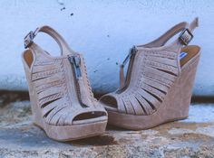 You are going to fall in love with our Not Rated Saucin Wedges Super comfy and true to size