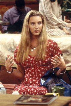 """40 Kooky Phoebe Buffay Fashion Moments You Forgot You Were Obsessed With on """"Friends"""" - Cosmopolitan.com"""