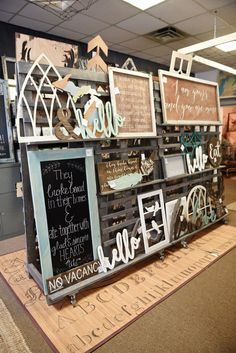 The Found Cottage: Before & After Craft Show Booths, Craft Booth Displays, Craft Show Ideas, Store Displays, Retail Displays, Merchandising Displays, Window Displays, Booth Decor, Jewelry Displays