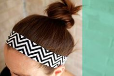 Easy Head Band Tutorial....great for beach/pool time.