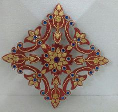 1000 images about festival welcome on pinterest diwali for Door rangoli design images new