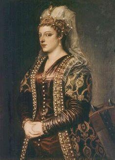 Catherine Cornaro, the last Queen of #Cyprus (1542) | #royals #monarchy
