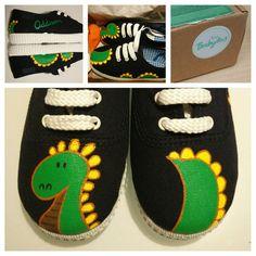 Pintadas Hand 167 Sneakers Zapatillas Mejores Painted Imágenes De 770rI