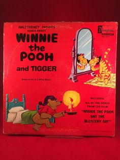Walt Disney Presents Songs About Winnie The Pooh & Tigger 1968 Record